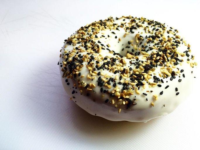 Bagel-Inspired Doughnuts