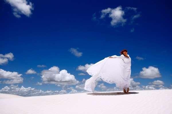 Sand Dune Fashion Shoots
