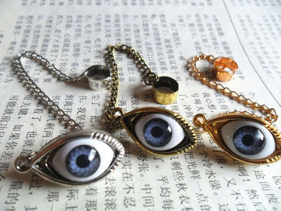 Intrusive Eyeball Earrings