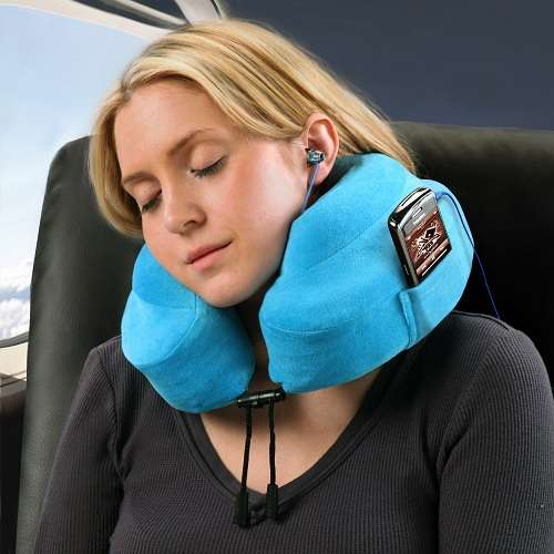 Snuggling Air Travel Cushions
