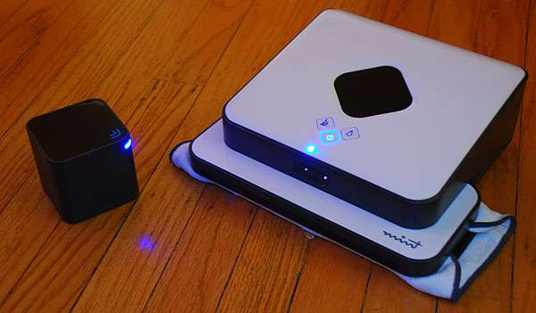 evolution robotics mint sweeper