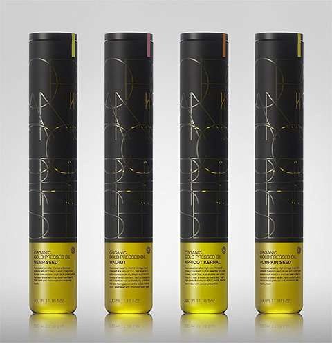 Evolve Cold Pressed Oil Packaging