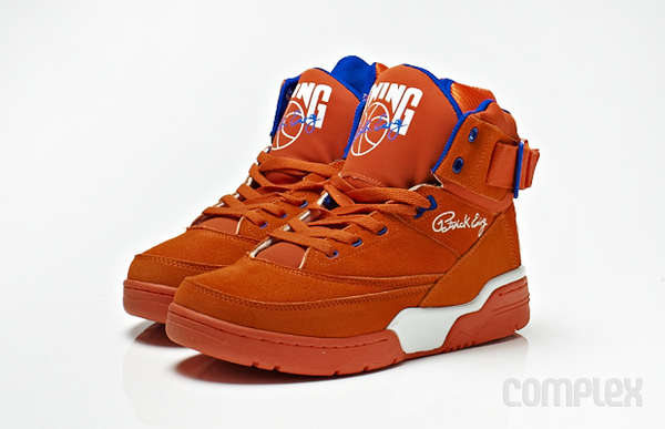Electric Tangerine Throwback Sneakers