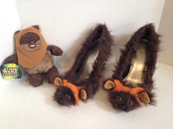 Furry Sci-Fi Heels