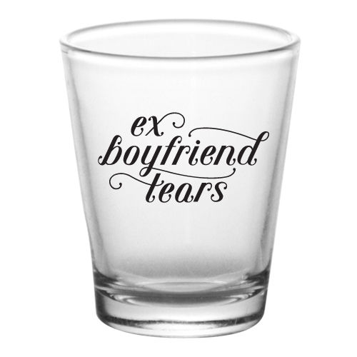 Break-Up Shot Glasses