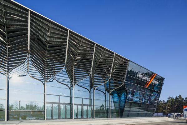 Tree-Inspired Exhibition Halls