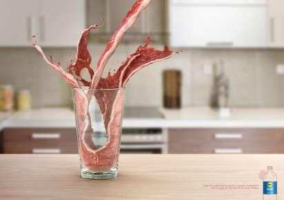 Surreal Liquid Flavor Ads