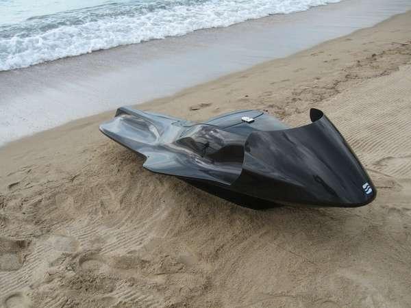 Carbon Fiber Jet Skis