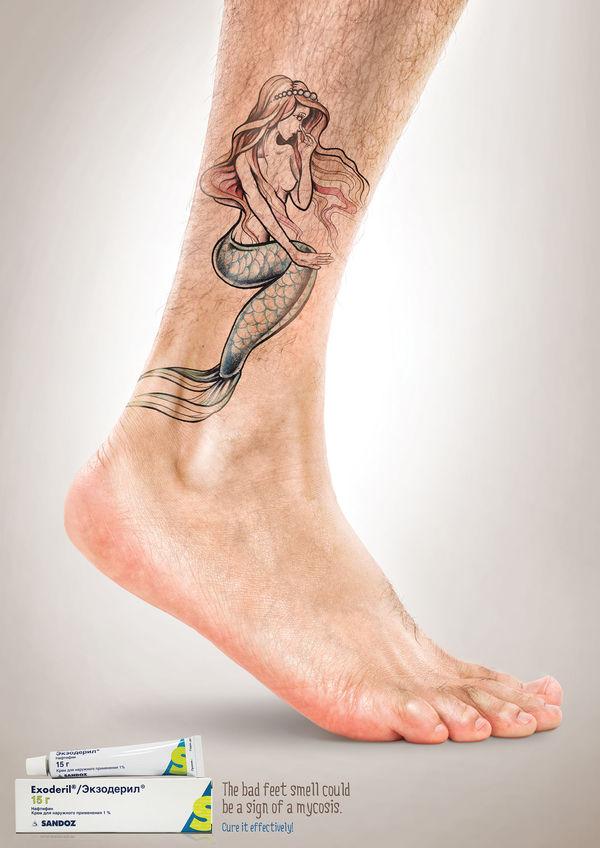 Irritable Ankle Tattoo Ads