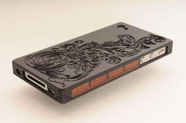 EXOvault Metal iPhone 4 Case