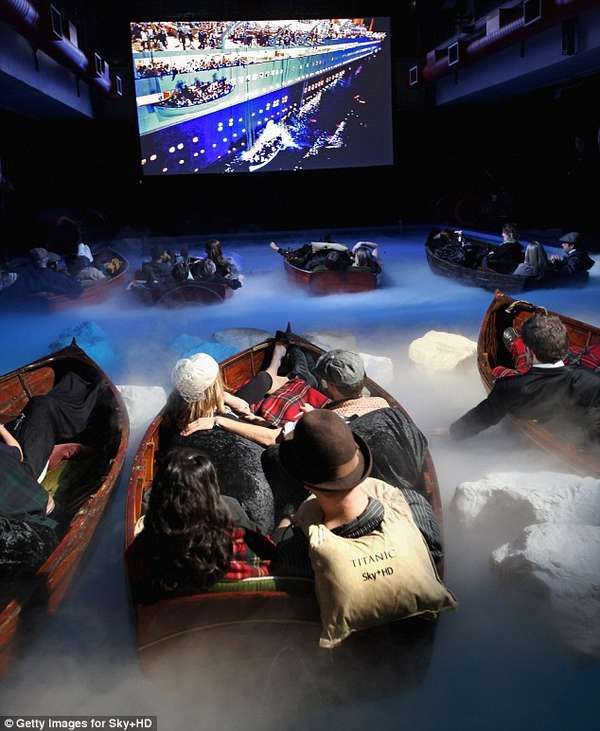 Immersive Movie Experiences