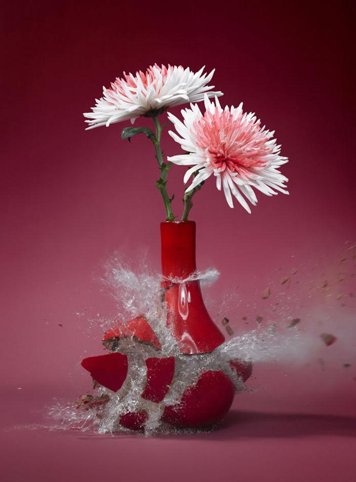 Exploding Vases