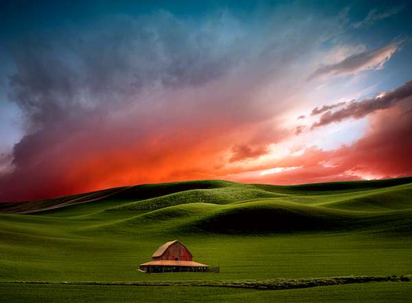Surreal Farmland Photography
