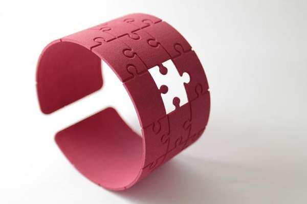 Adorable Puzzle Cuffs