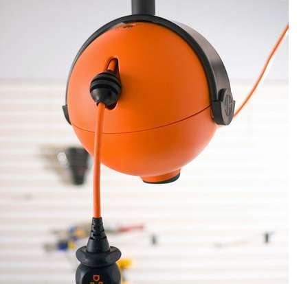 Motorized Sphere Cord Reels