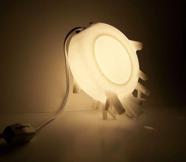 Extracted Love Lamp