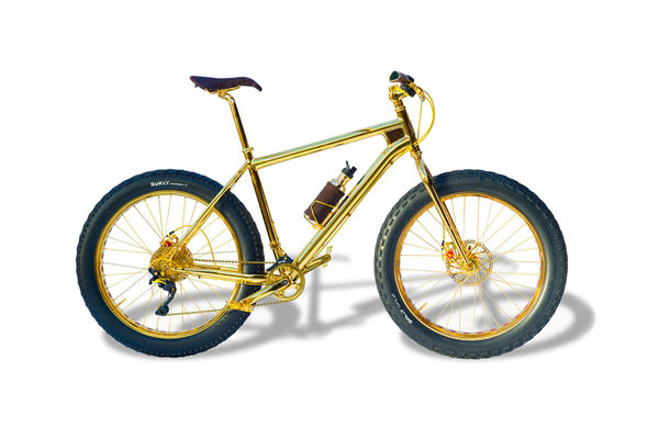 Opulent Golden Bicycles