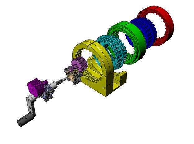 Absurdist Gear Systems
