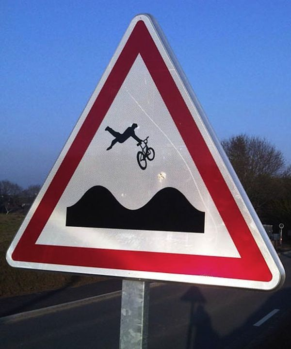 Sporty Road Sign Makeovers