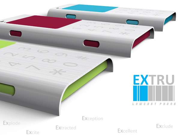 Extru Low Cost Phone