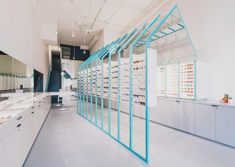 Perception-Bending Eyewear Shops