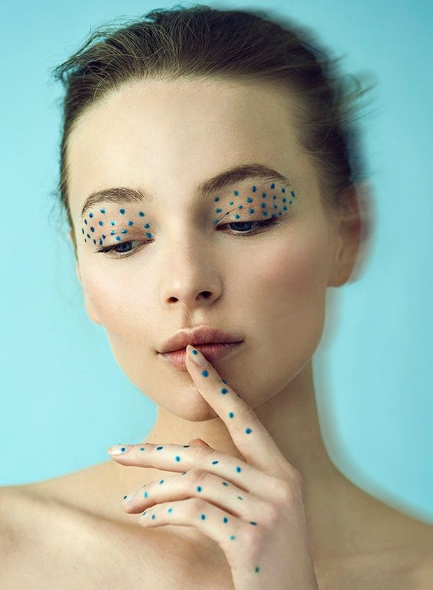 Expressive Eye Makeup Photography