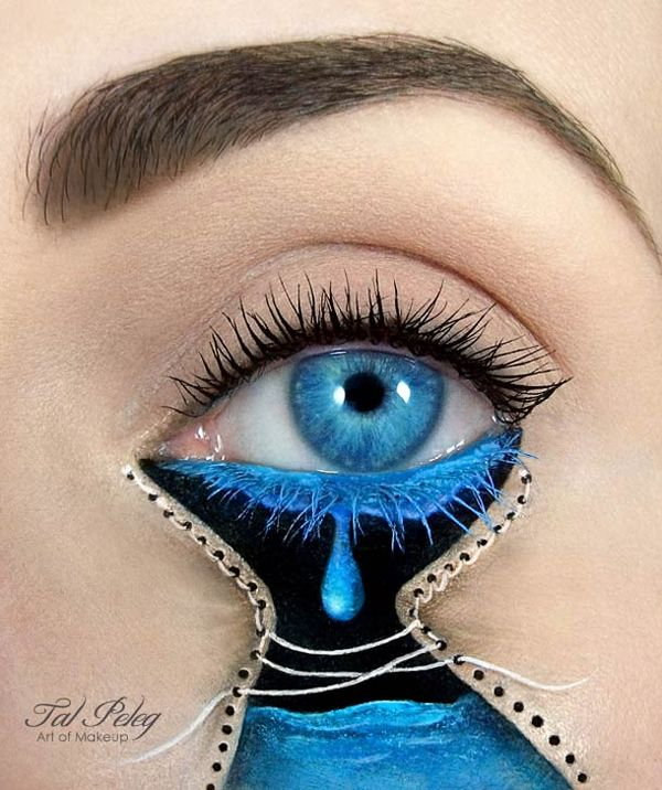 Conspicuous Cosmetic Eye Paintings