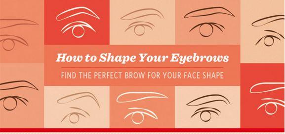 Eyebrow-Perfecting Infographics