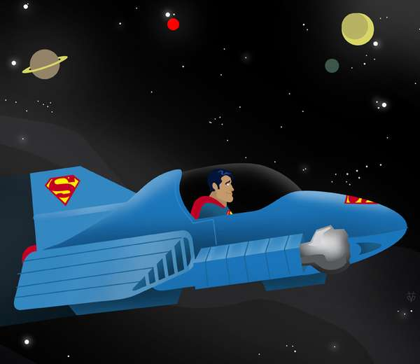 Unnecessary Superhero Vehicles