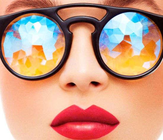 Psychedelic Kaleidoscope Glasses