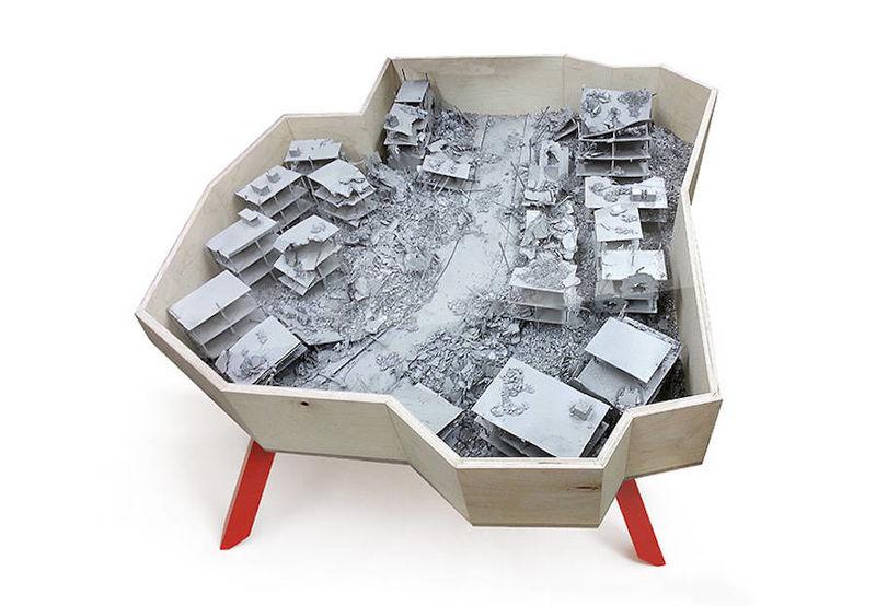Demolished City Tables