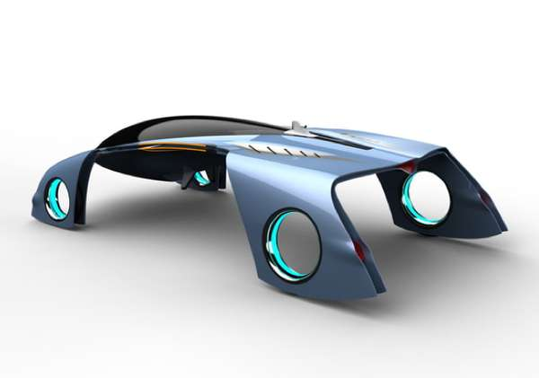 Air-Cutting Concept Cars