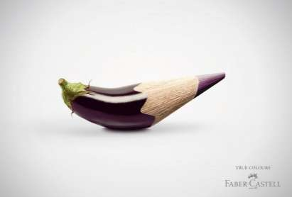 Vibrant Pencil-Tipped Ads