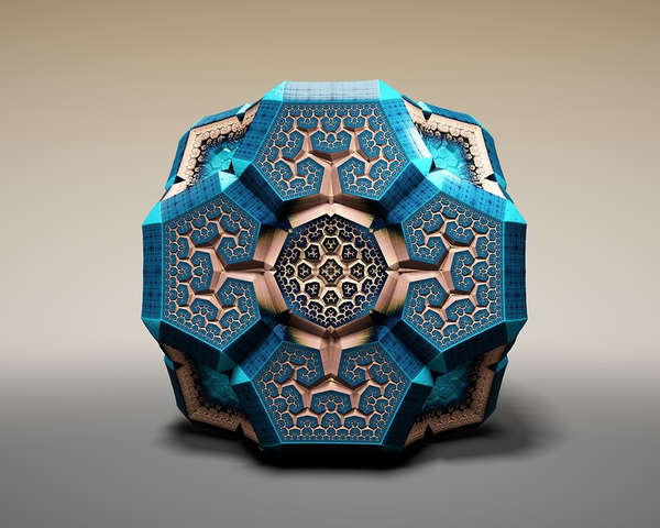 Ornate Geometric Sculptures