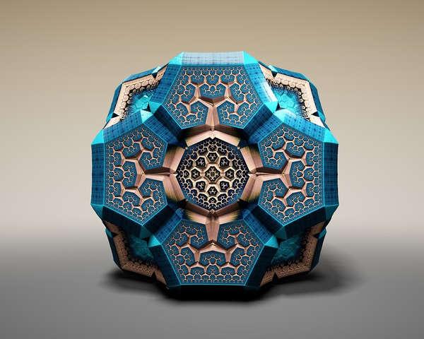 Ornate Geometric Sculptures