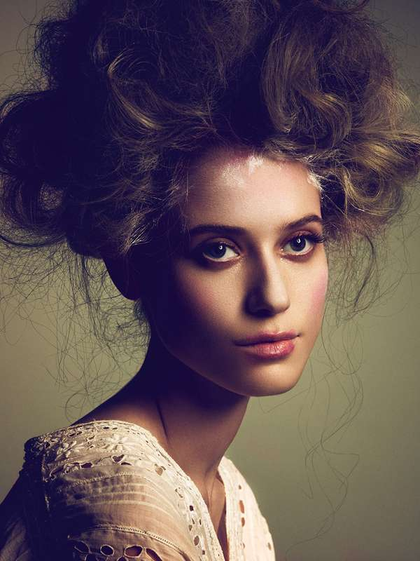 Fabulous Frizzy Hair Photography