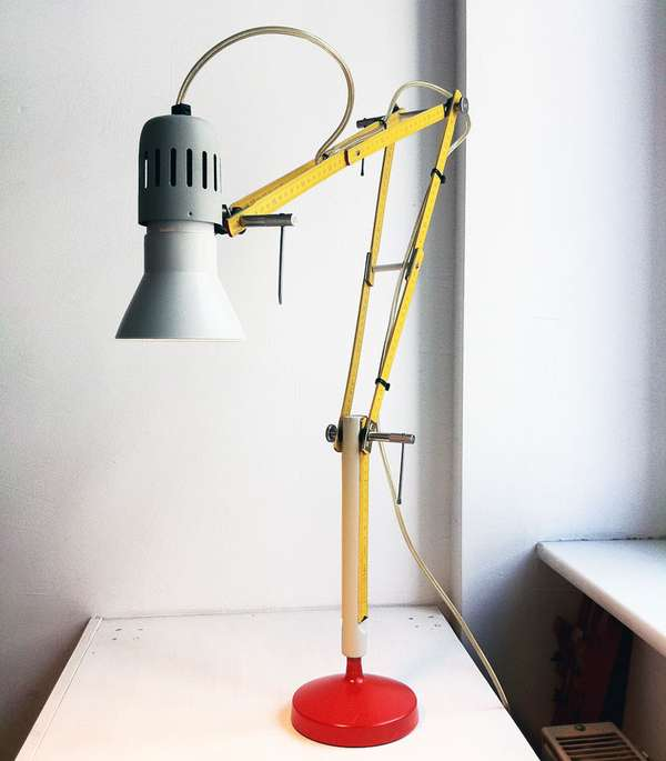 Rad Ruler Lamps