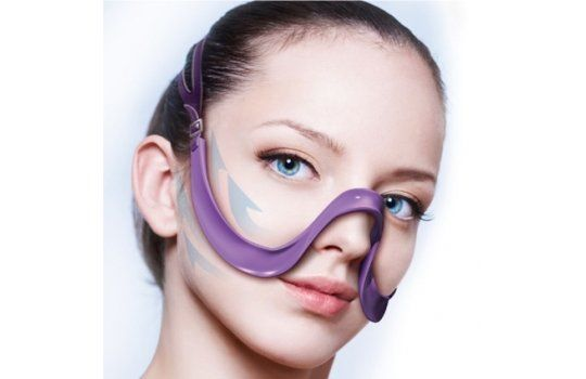 Wrinkle-Removing Facial Straps