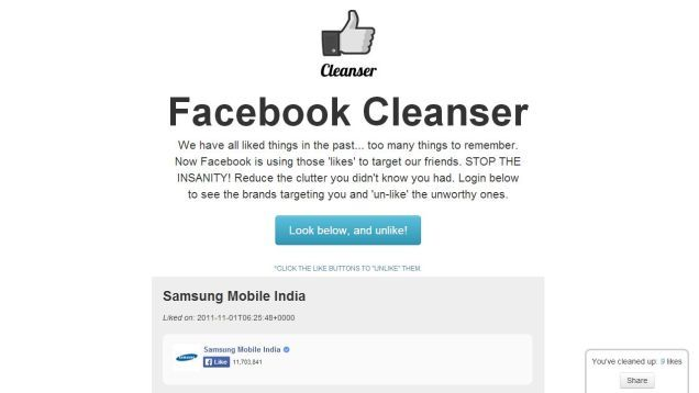Unsubscribing Social Media Tools