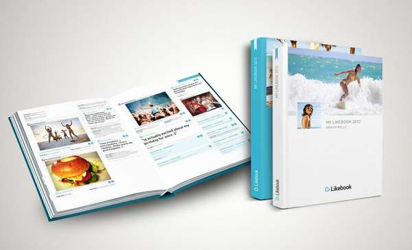 Personalized Social Media Books