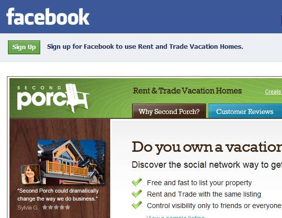 Facebook House Swaps