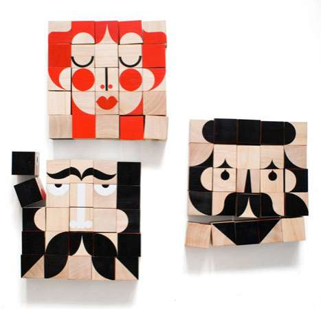 Cute Character Building Blocks