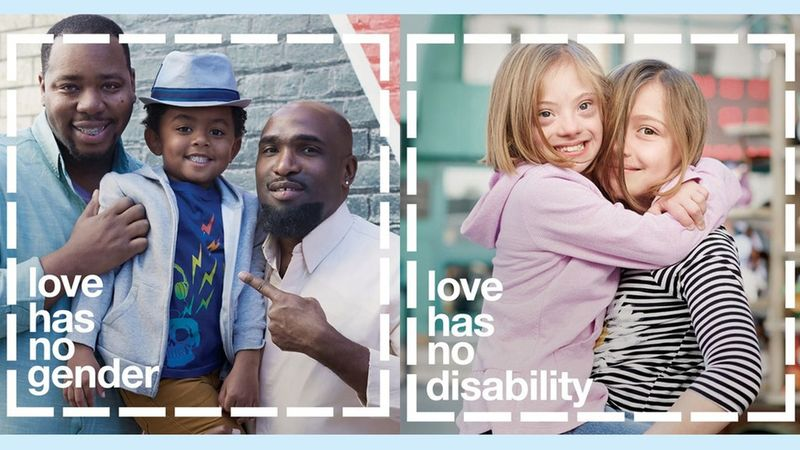 Image-Sharing Equality Ads