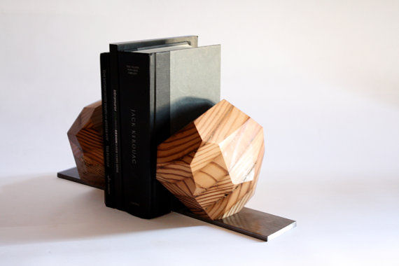 Reclaimed Origami Bookends