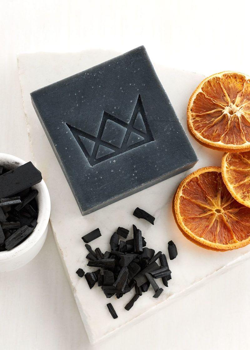 Detoxifying Charcoal Soaps