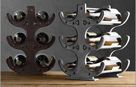 Industrial Wine Holders