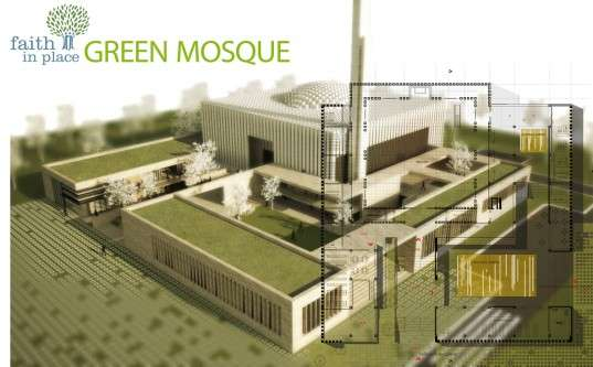 faith in place green mosque