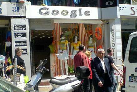 Fake Google Store Pops Up in Istanbul