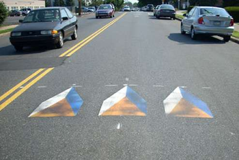 Fake Speed Bumps