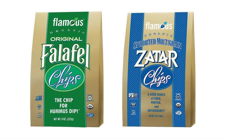 Herbaceous Falafel Chips